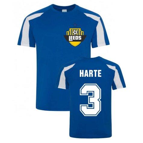 Ian Harte Leeds Sports Training Jersey (Blue)
