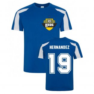 Pablo Hernandez Leeds Sports Training Jersey (Blue)