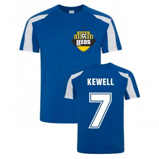 Harry Kewell Leeds Sports Training Jersey (Blue)