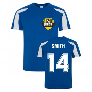 Alan Smith Leeds Sports Training Jersey (Blue)