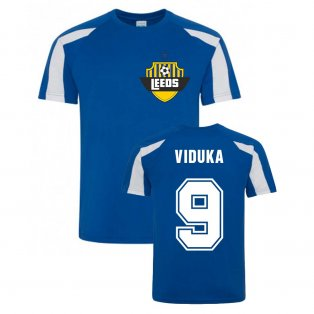 Mark Viduka Leeds Sports Training Jersey (Blue)