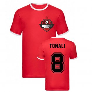 Sandro Tonali Milan Ringer Tee (Red)