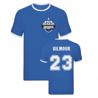 Billy Gilmour Ringer Tee (Blue)