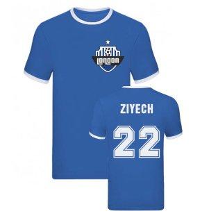 Hakim Ziyech Ringer Tee (Blue)