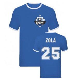 Gianfranco Zola Ringer Tee (Blue)