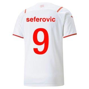 2021-2022 Switerland Away Shirt (Seferovic 9)