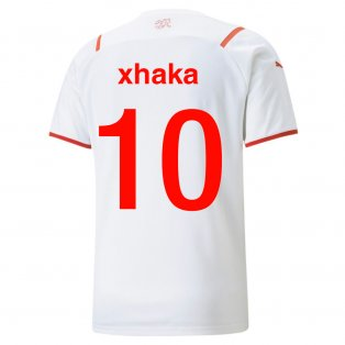 2021-2022 Switerland Away Shirt (Xhaka 10)