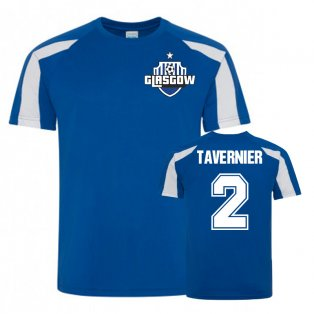 James Tavernier Rangers Sports Training Jersey (Royal)