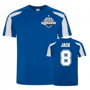 Ryan Jack Rangers Sports Training Jersey (Royal)