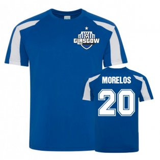 Alfredo Morelos Rangers Sports Training Jersey (Royal)