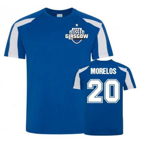 Alfredo Morelos Rangers Sports Training Jersey (Royal)