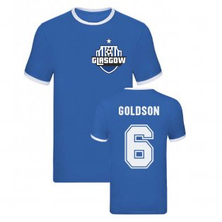 Connor Goldson Rangers Ringer Tee (Blue)