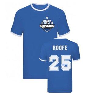 Kemar Roofe Rangers Ringer Tee (Blue)