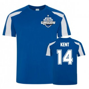 Ryan Kent Rangers Sports Training Jersey (Royal)