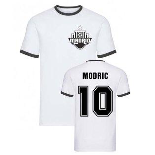 Luka Modric Madrid Ringer Tee (White)