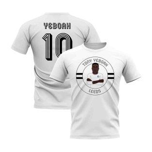 Tony Yeboah Leeds Illustration T-Shirt (White)