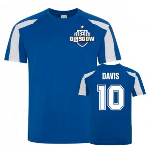 Steven Davis Rangers Sports Training Jersey (Royal)