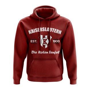 Kaiserslautern Established Hoody (Maroon)
