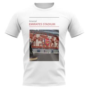 Emirates Stadium Arsenal Stadium T-Shirt (White)