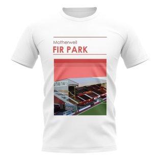 Fir Park Motherwell Stadium T-Shirt (White)