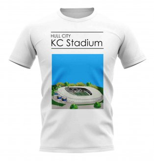 KC Stadium Hull City Stadium T-Shirt (White)