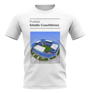 Estadio Cuauhtemoc Puebla Stadium T-Shirt (White)