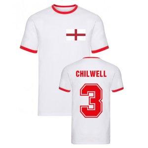 Ben Chilwell England Ringer Tee (White)