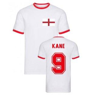 Harry Kane England Ringer Tee (White)