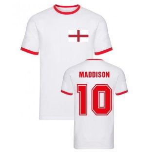 James Maddison England Ringer Tee (White)