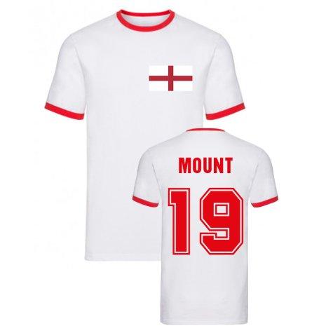 Mason Mount England Ringer Tee (White)