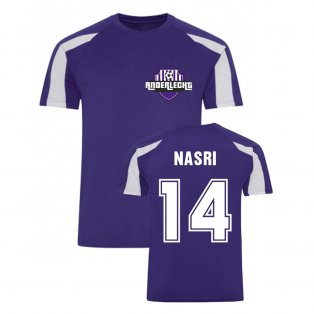 Samir Nasri Anderlecht Sports Training Jersey (Purple)