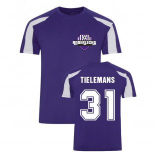 Youri Tielemans Anderlecht Sports Training Jersey (Purple)
