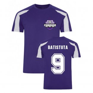 Gabriel Batistuta Fiorentina Sports Training Jersey (Purple)