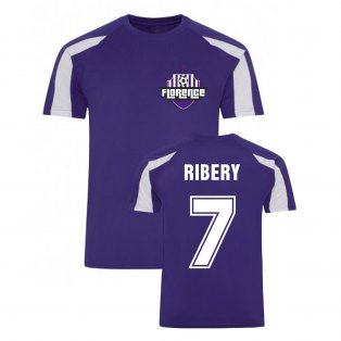 Franck Ribery Fiorentina Sports Training Jersey (Purple)