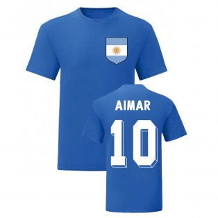 Pablo Aimar Argentina National Hero Tee (Blue)