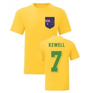 Harry Kewell Australia National Hero Tee (Yellow)