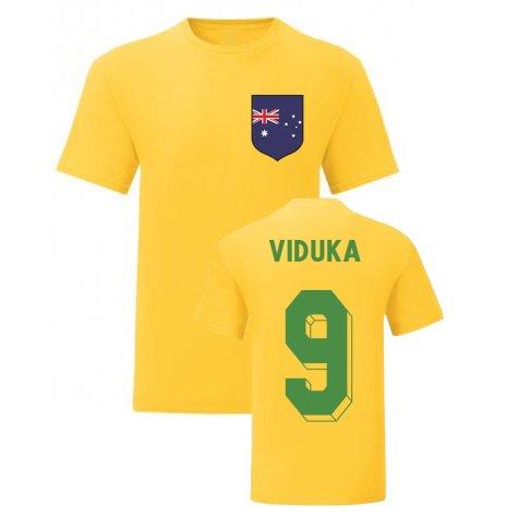 Mark Viduka Australia National Hero Tee (Yellow)