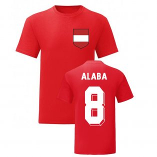 David Alaba Austria National Hero Tee (Red)