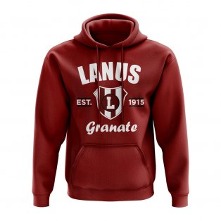 Lanus Established Hoody (Maroon)
