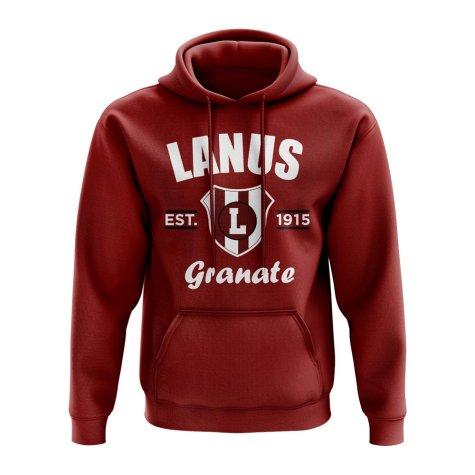 Lanus Established Hoody (Maroon)