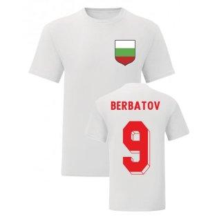 Dimitar Berbatov Bulgaria National Hero Tee (White)