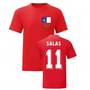 Marcelo Salas Chile National Hero Tee (Red)