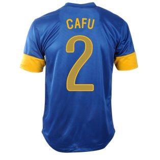 2012-13 Brazil Nike Away Shirt (Cafu 2)