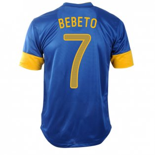 2012-13 Brazil Nike Away Shirt (Bebeto 7) - Kids