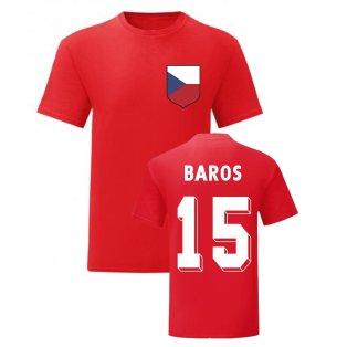 Milan Baros Czech Republic National Hero Tee\'s (Red)