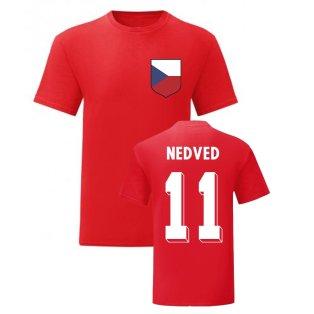 Pavel Nedved Czech Republic National Hero Tee\'s (Red)