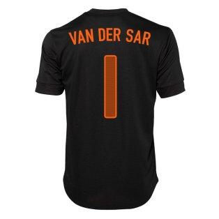 2012-13 Holland Nike Away Shirt (Van der Sar 1)