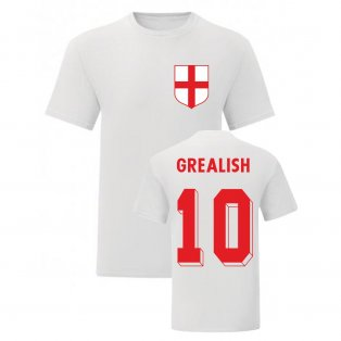 Jack Grealish England National Hero Tee (White)