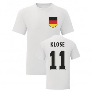 Miroslav Klose Germany National Hero Tee\'s (White)