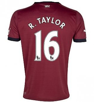 2012-13 Newcastle Puma Away Shirt (R.Taylor 16) - Kids